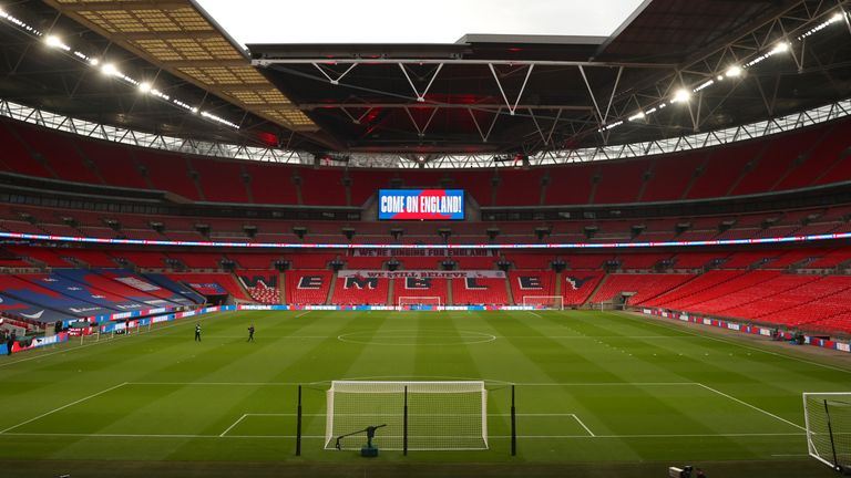 It is hoped a capacity crowd will watch the Women's Euro 2022 final at Wembley Stadium