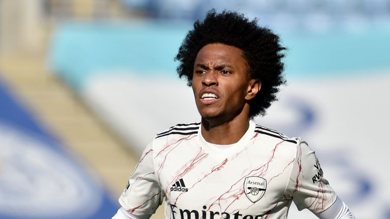 Willian has scored just one goal in all competitions for Arsenal this season