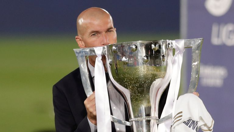 Less than 12 months after leading Real Madrid to the La Liga title in 2019/20, Zinedine Zidane has quit as manager on the back of their first trophyless season since 2009/10