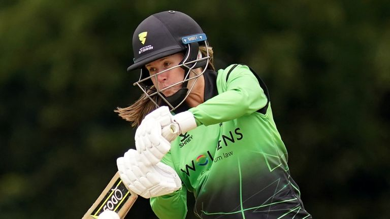 Western Storm captain Sophie Luff scored a half-century in her side's win over Lightning