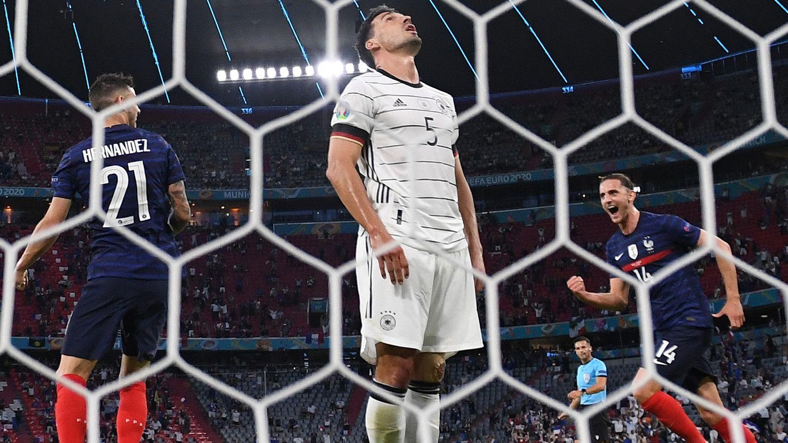 France 1-0 Germany: Mats Hummels' own goal gives world champions winning start at Euro 2020