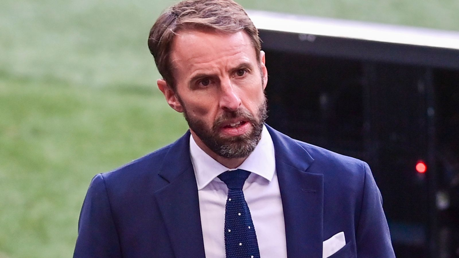 Gareth Southgate: England manager says he suffered abuse for supporting Covid vaccine programme