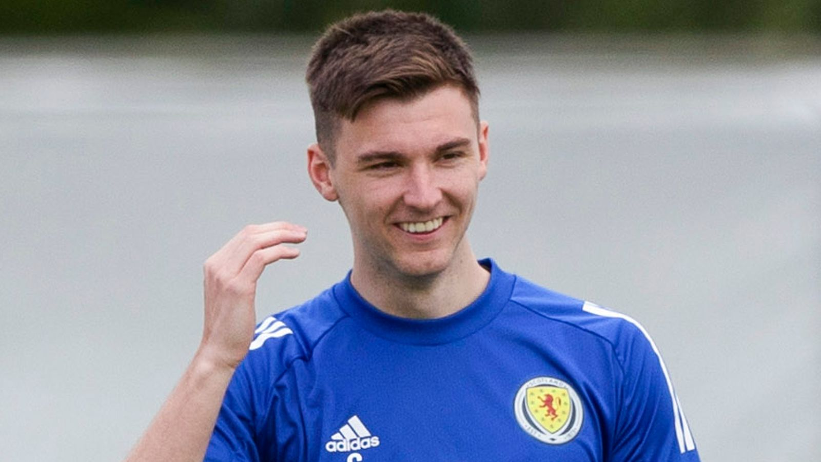 Kieran Tierney: Scotland defender 'fit and available' to face England in Friday's Euro 2020 Group D game