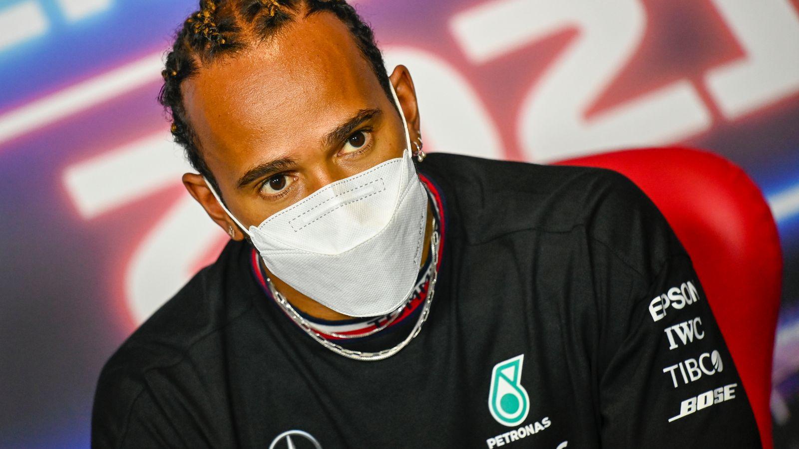 Lewis Hamilton reveals Mercedes talks underway for new Formula 1 contract into 2022 season