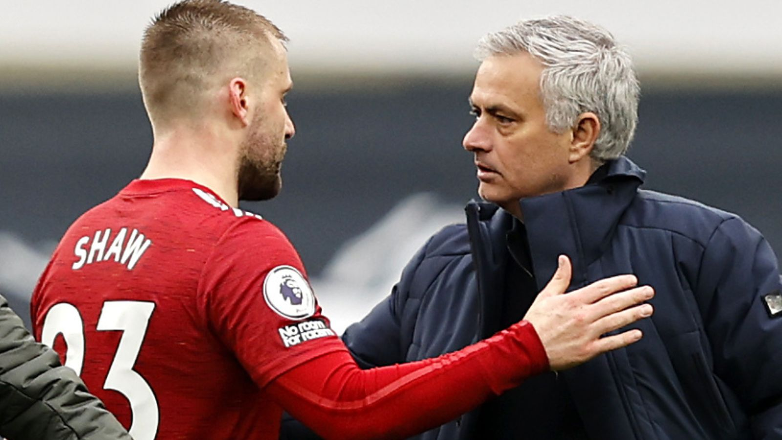 England's Luke Shaw bemused by Jose Mourinho's continued criticism: 'I am trying to move on but he can't'