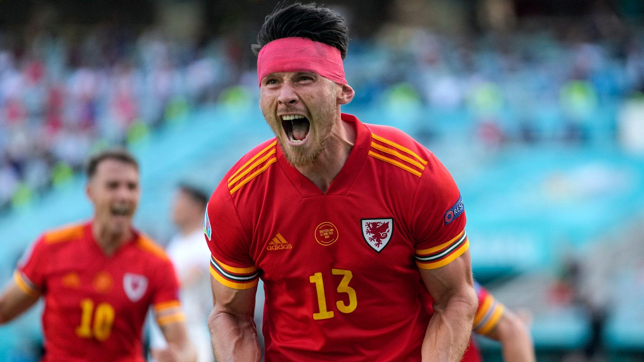 Wales 1-1 Switzerland: Kieffer Moore header secures point in Euro 2020 opener | Football News | Sky Sports