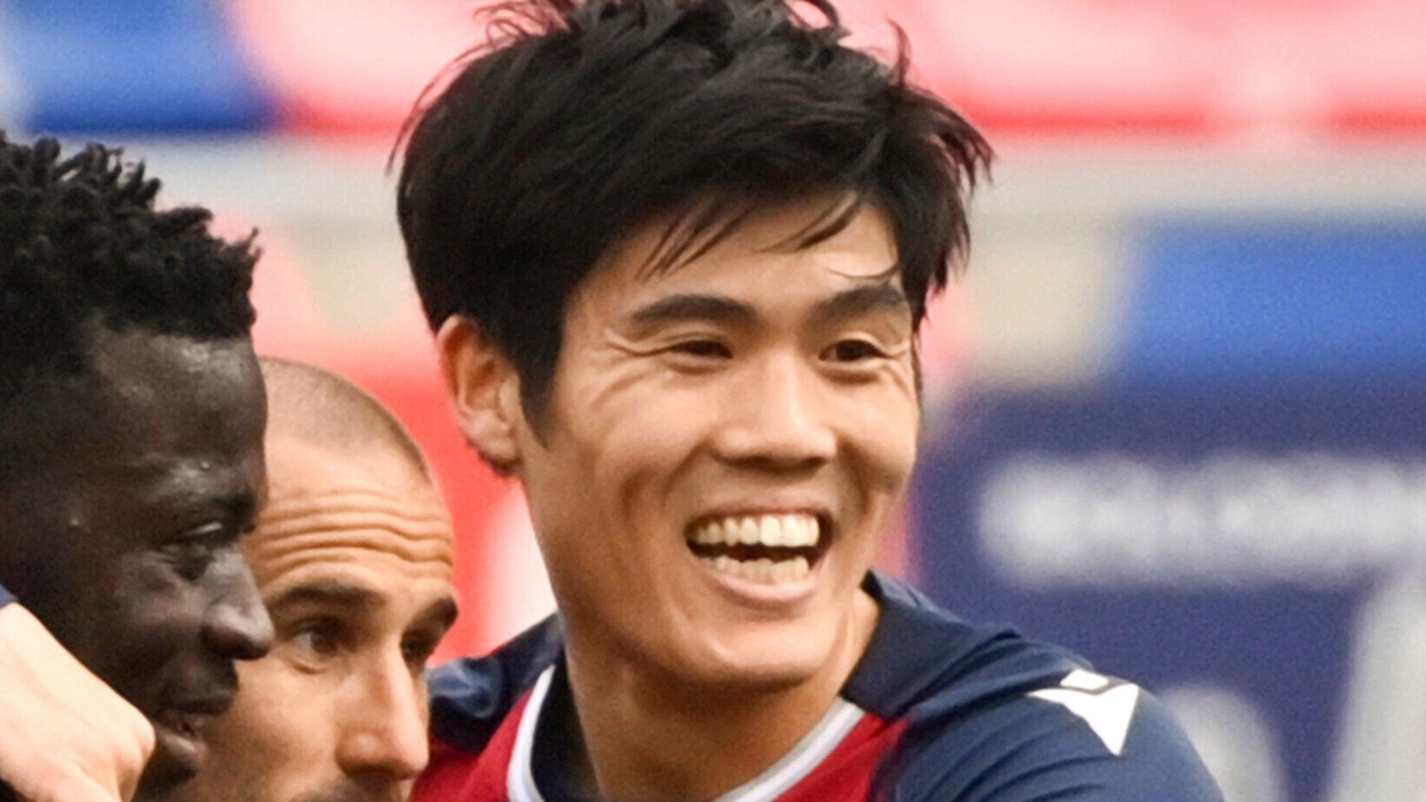 Tottenham transfer news: £15.5m Takehiro Tomiyasu offer knocked back by  Bologna | Football News | Sky Sports