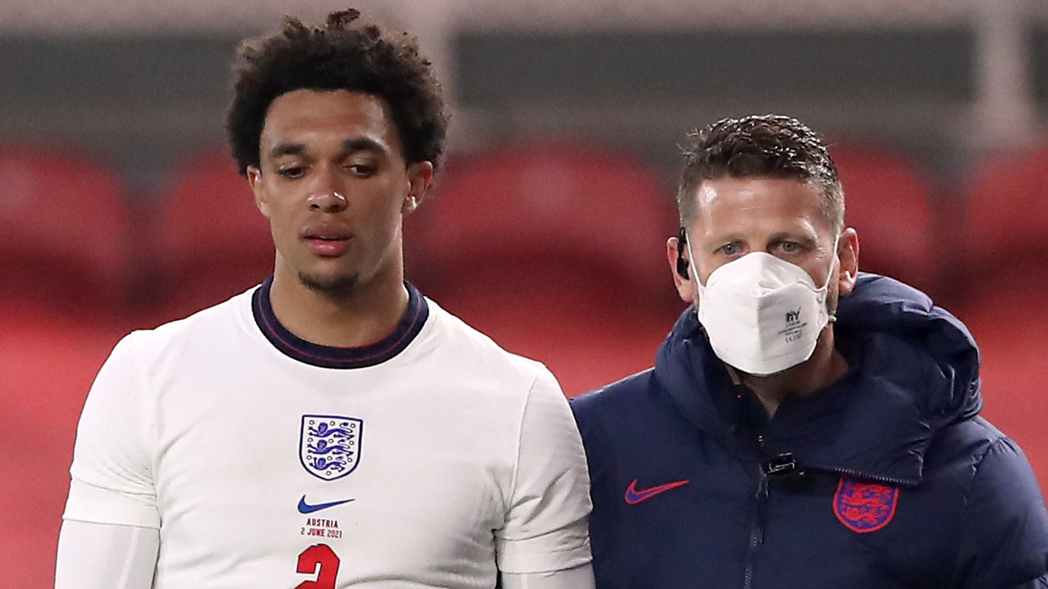 Trent Alexander-Arnold: England defender's thigh injury to be assessed,  says Gareth Southgate | Football News | Sky Sports