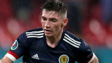 Gilmour is self-isolating for 10 days and will miss Scotland's game against Croatia