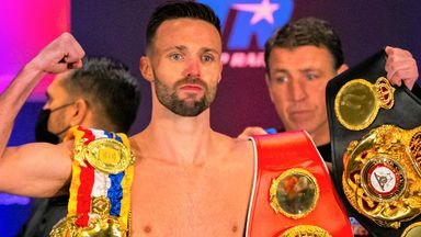 Josh Taylor's world-title defence against Jack Catterall has been rescheduled to February 26