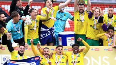 Norwich City won the Championship title and have six players included in the PFA Team of the Year