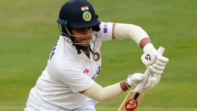 India's Shafali Verma finished unbeaten on 55, registering her second fifty on debut with another captivating innings
