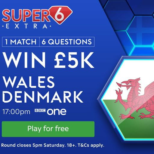 Super 6 Extra: Wales vs Denmark