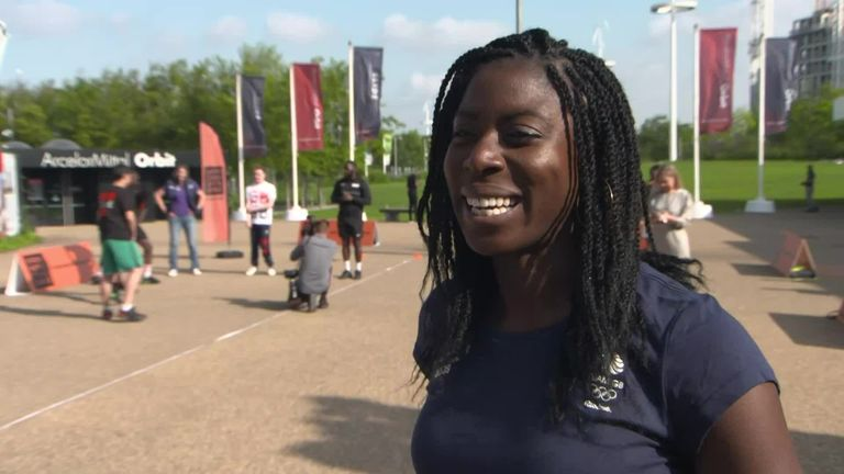 Olympic, World and Commonwealth champion Christine Ohuruogu joined Sky Sports News' Jaydee Dyer to discuss Team GB and 20 sports joining forces to launch their latest search for the next generation of athletes