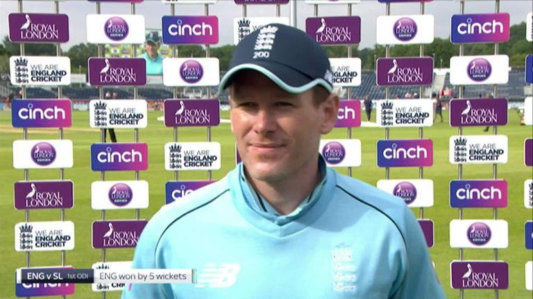 Eoin Morgan sums up England's dominant performance against Sri Lanka.