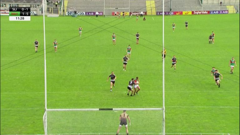 O'Shea ran riot from full-forward against Sligo
