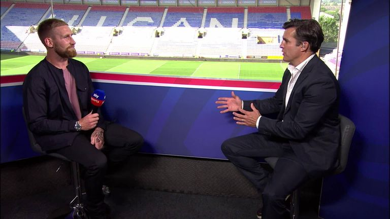 Brian Carney sits down with England and Catalans star Sam Tomkins to discuss an array of topical rugby league issues.