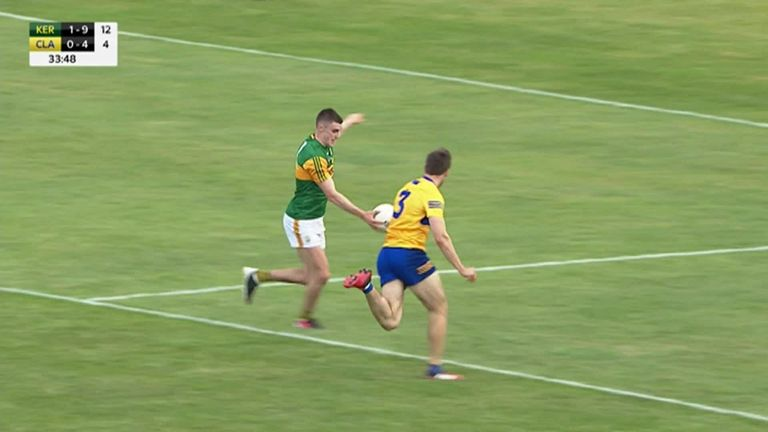 Seán O'Shea first-half goal was a prime example of how Kerry capitalised on any turnovers