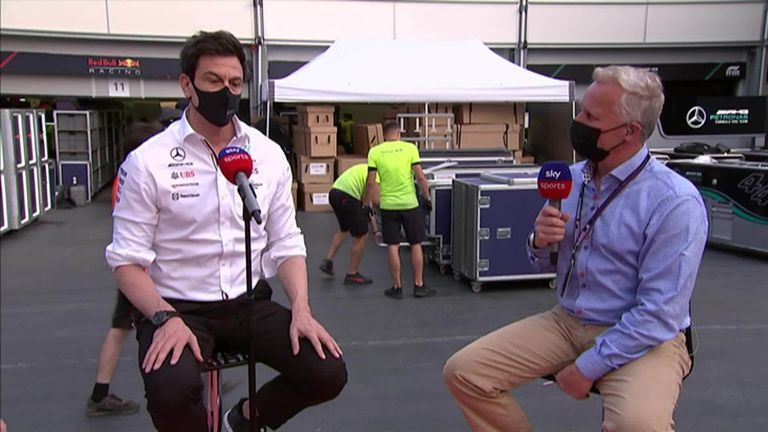 Toto Wolff on Mercedes' rare point-less Azerbaijan GP result and chances of striking back against Red Bull