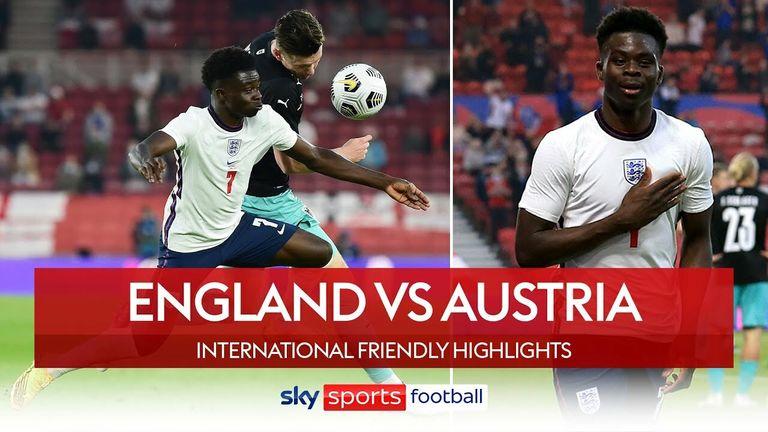 England beat Austria