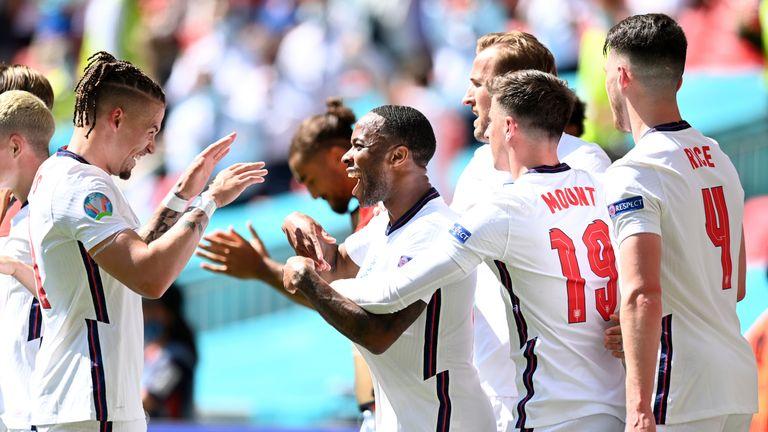 AFP - Engeland vs Kroatië
