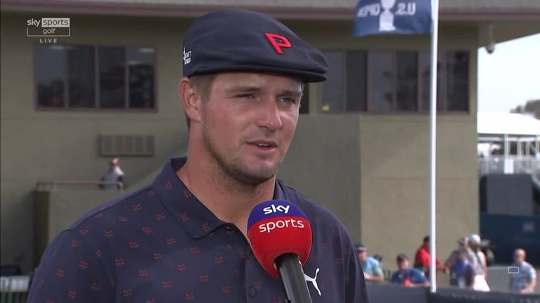 Bryson DeChambeau reflects on his first bogey-free major round, his recent late-night swing inspiration, his rivalry with Brooks Koepka and his hopes of retaining his US Open title