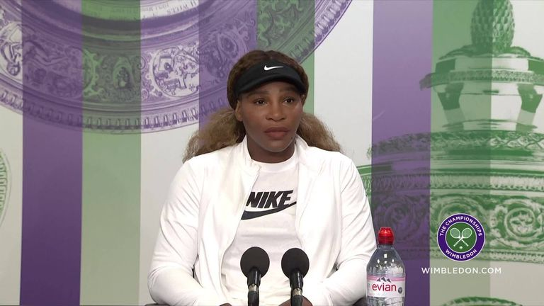 Serena Williams says there are 'a lot of reasons' behind her decision not to play at the Tokyo Olympic Games later this summer