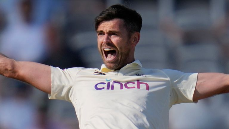 James Anderson is playing in his 162nd game for England this week in the second Test against New Zealand at Edgbaston