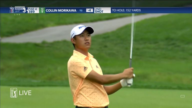A look back at the best of the action from Collin Morikawa's opening round at The Memorial, where a six-under 66 saw him set the clubhouse target