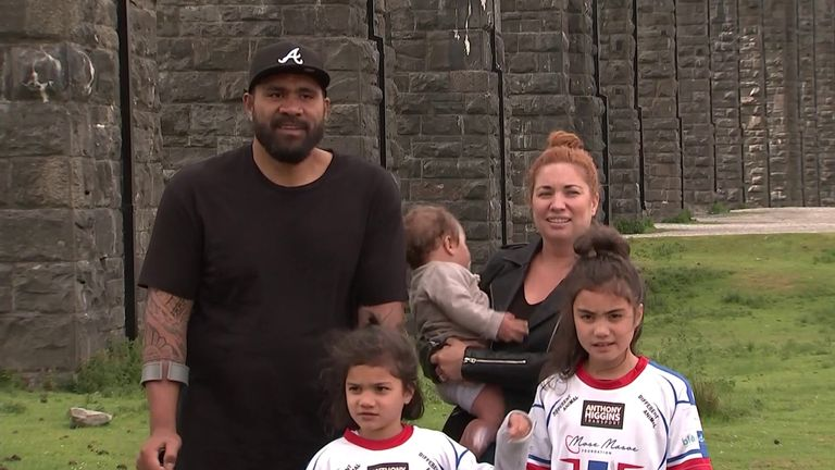 After Mose Masoe's career-ending injury, wives and partners of Super League players completed the Whernside climb - the highest of the Yorkshire peaks - to fundraise for players in similar situations to the ex-Samoa international