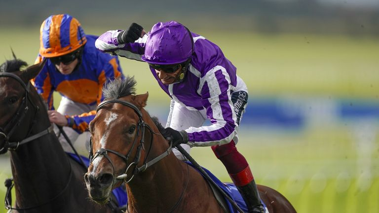 St Mark's Basilica is Aidan O'Brien's leading hope for victory in the French Derby