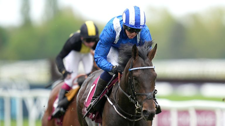 Al Aasy, ridden by Jim Crowley, is the favourite for Friday's Coronation Cup