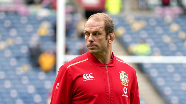 Warren Gatland reacts to captain Jones being ruled out of the tour through injury