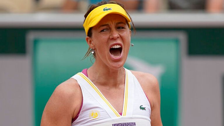 Anastasia Pavlyuchenkova finally reached a Grand Slam semi-final at the 52nd time of asking with victory at Roland Garros