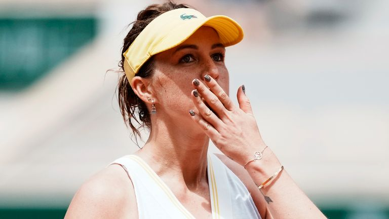 Anastasia Pavlyuchenkova has made it through to her maiden Grand Slam final