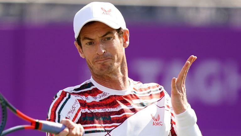 Wimbledon 2021 Andy Murray Draws Nikoloz Basilashvili In First Round Tennis News Sky Sports