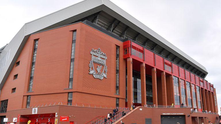 Anfield Stadium, Liverpool