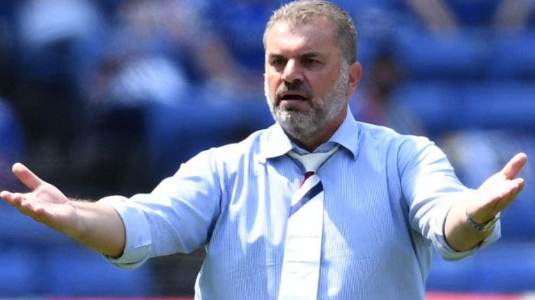 Ange Postecoglou is currently manager of Yokohama F. Marinos in Japan (Getty)