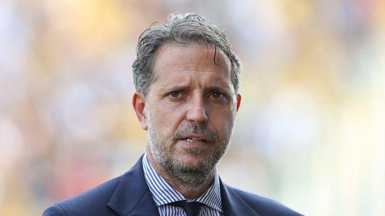 AP - Fabio Paratici, Tottenham's new managing director of football