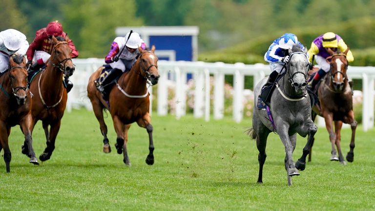 Easterby's Art Power sprints to victory in the Palace of Holyroodhouse Handicap at Royal Ascot last year