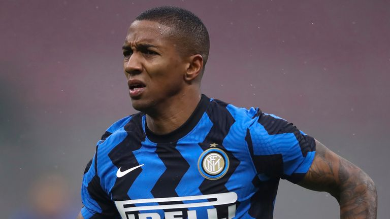 Ashley Young helped Inter Milan win heir first Serie A title in 11 years this season, making 34 appearances.