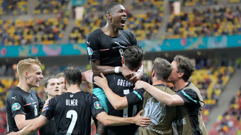Austria opened their Euro 2020 campaign with a 3-1 win over North Macedonia