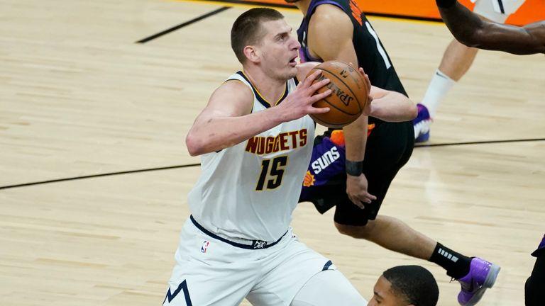 Nikola Jokic has captured the NBA's 2020-21 MVP award after putting up a career high 26.4 points and 10.8 rebounds per game.