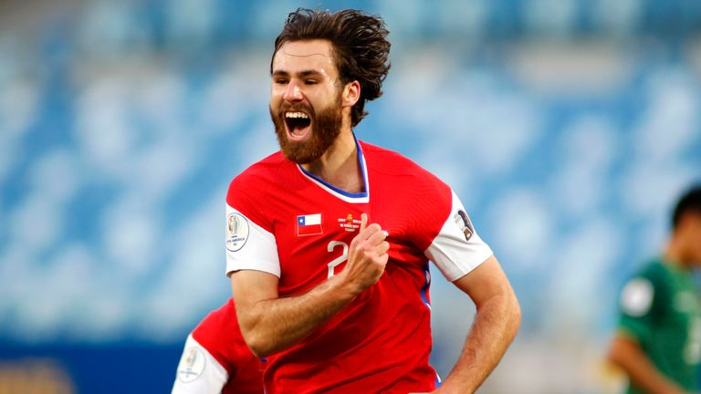 English-born Ben Brereton scored Chile's winner against Bolivia