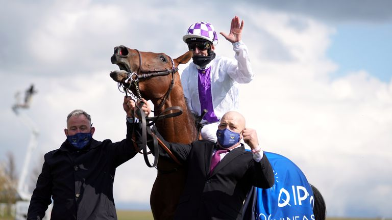Poetic Flare was a surprise 16-1 winner of the 2,000 Guineas at Newmarket in May