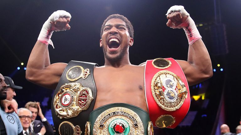 Anthony Joshua, the WBA, WBO and IBF heavyweight title holder, was due to have an all-British heavyweight showdown with Tyson Fury this summer