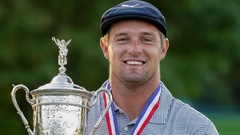 DeChambeau was the only player to finish the week under par
