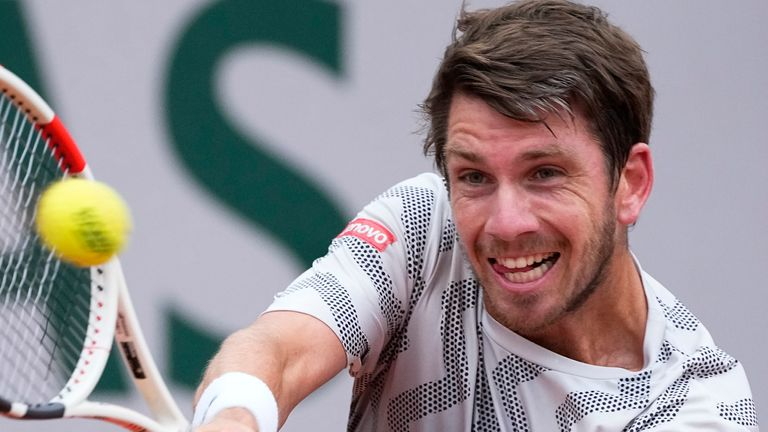 Cam Norrie saw his French Open run ended by 13-time winner Rafael Nadal