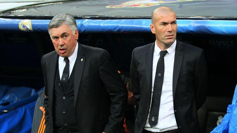 Ancelotti returns in place of Zinedine Zidane