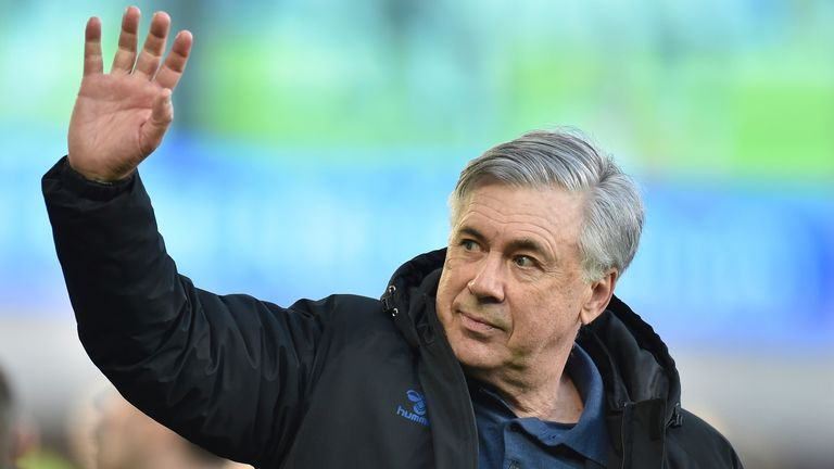 Carlo Ancelotti has left Goodison Park after a year-and-a-half at the helm